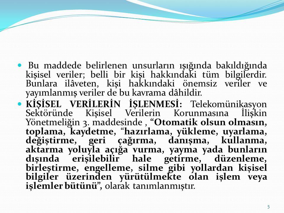 Ülkemizde de ayrıntılı fatura alanında, Yönetmeliğin (TSKVKY), 12.