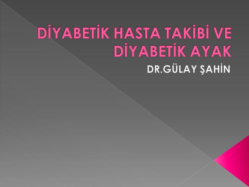 45 yaşında Zeynep Hanım, 3 ay önce DM tanısı konulmuş.Kan şekerini kontrol ettirmek için polikliniğize başvurdu.