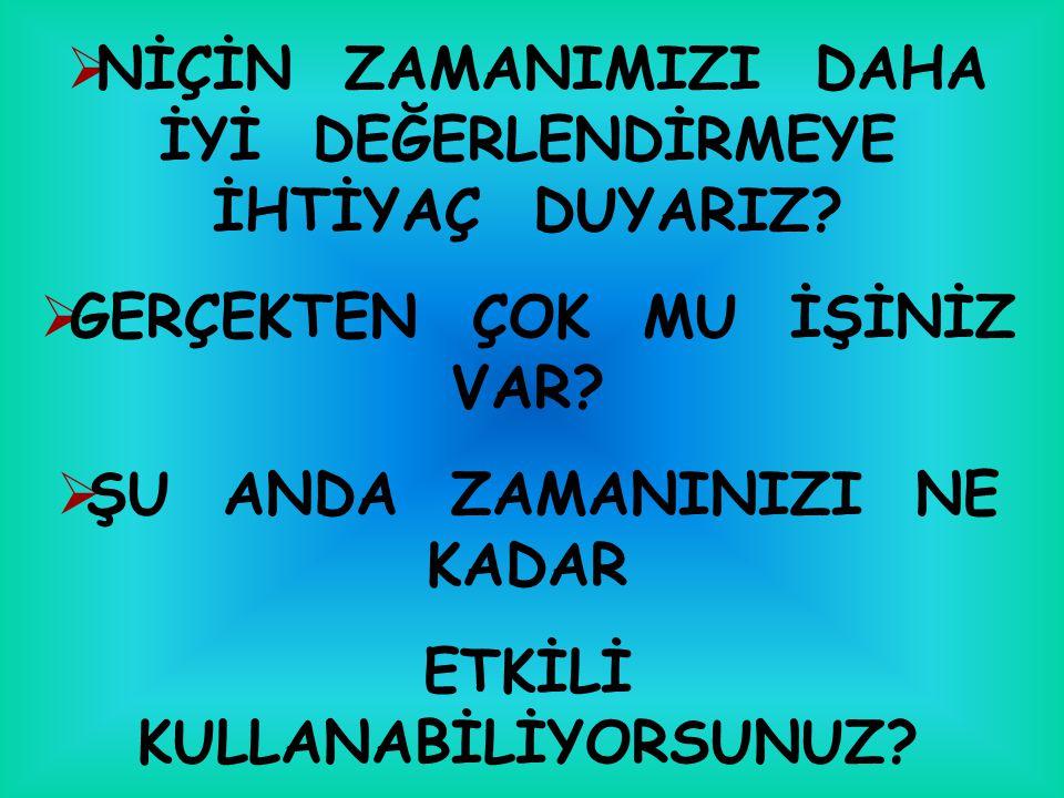 BEŞ ŞEYİN KIYMETİNİ BEŞ ŞEYDEN ÖNCE BİL...