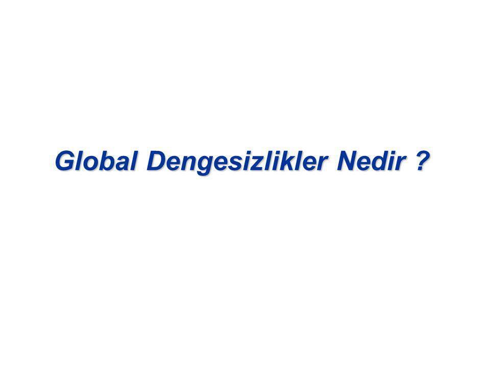 Global Dengesizlikler Nedir ?