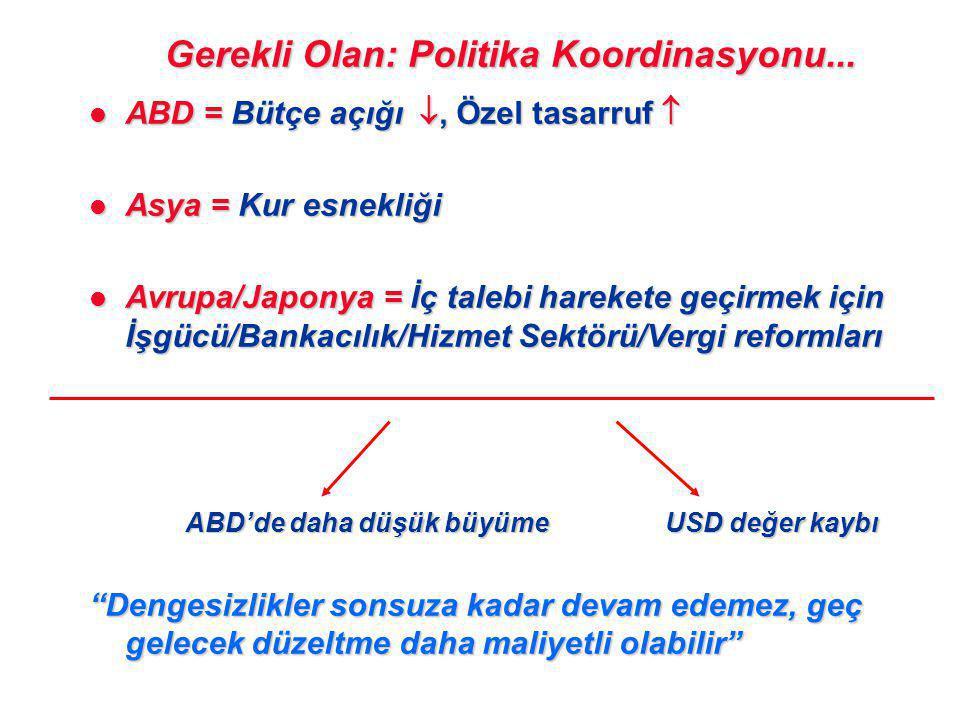 Gerekli Olan: Politika Koordinasyonu...