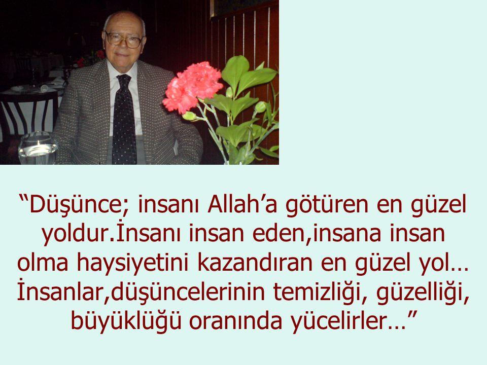 İnsan ne kadar mütevazi olursa, gönlü o kadar Allah'la beraber olur… İnsan ne kadar saygısızlık yaparsa o kadar Allah'tan, Allah'ın nurundan uzaklaşmış olur…