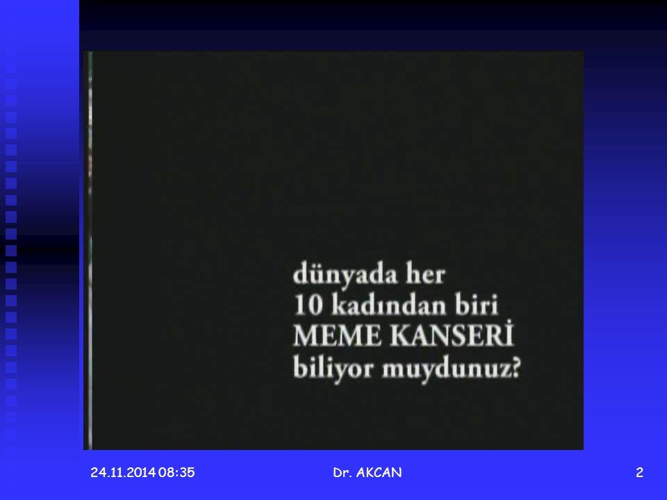 24.11.2014 08:36Dr. AKCAN2