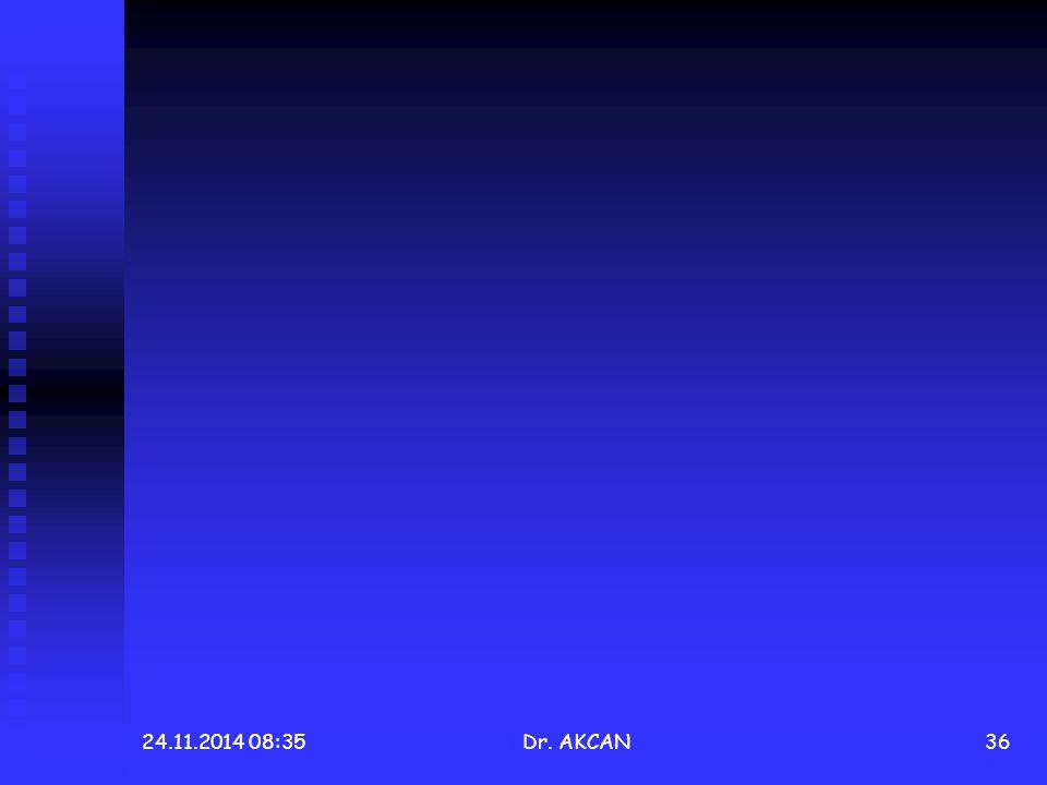 24.11.2014 08:36Dr. AKCAN36