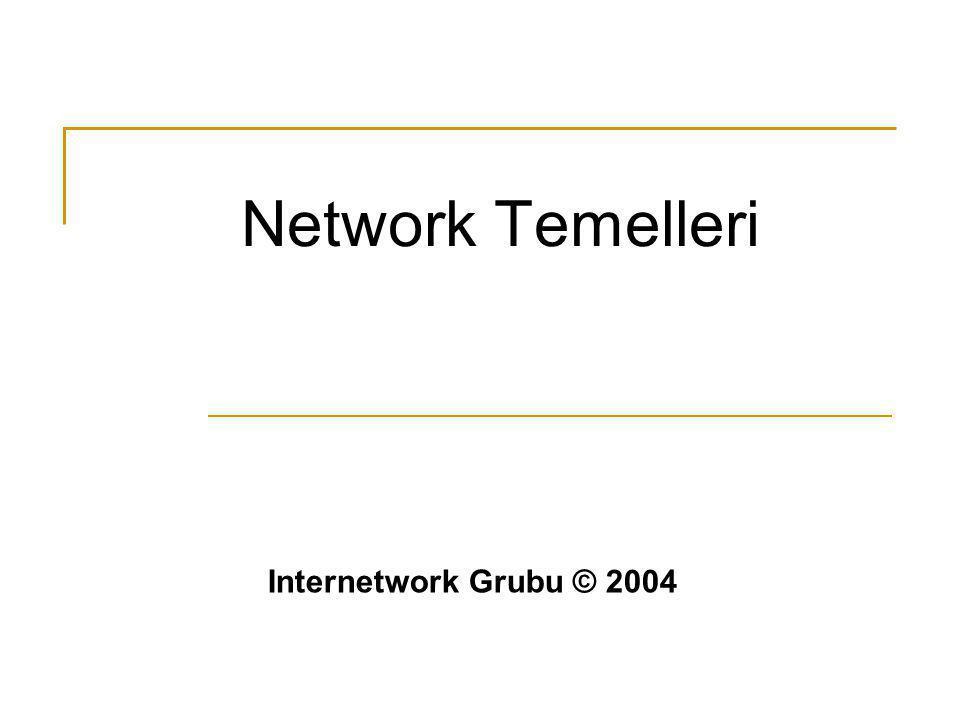 Network Temelleri Internetwork Grubu © 2004