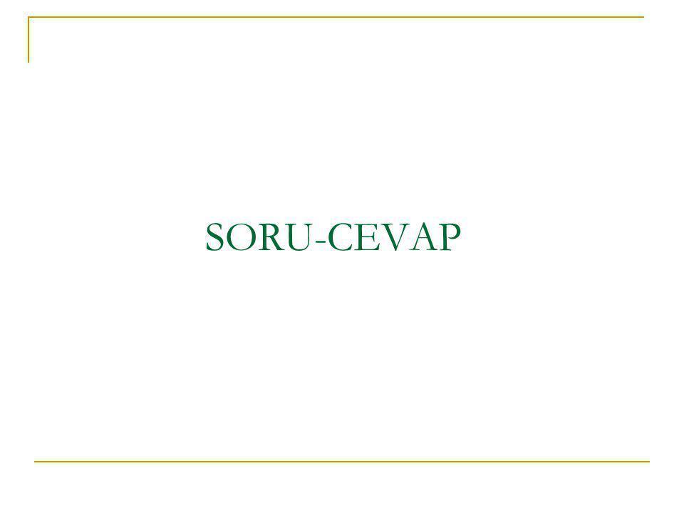 SORU-CEVAP