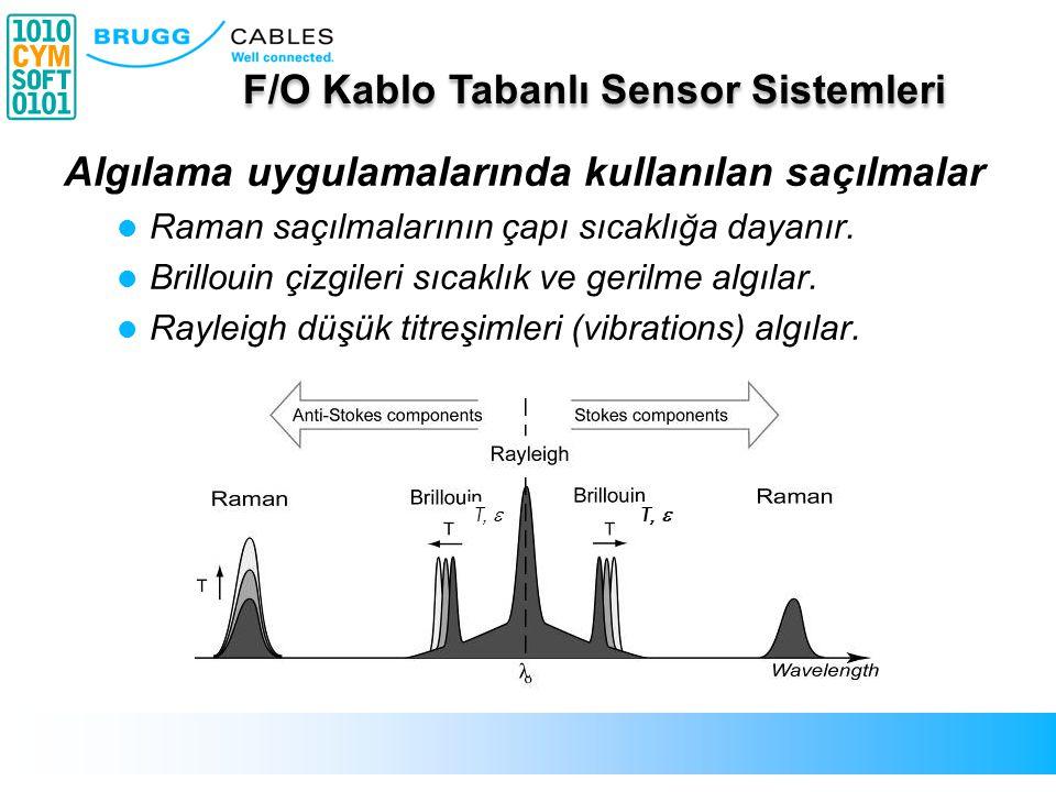 F/O Tabanlı Sensor Sisteminin Uygulaması Toprağın 30 – 50 cm.