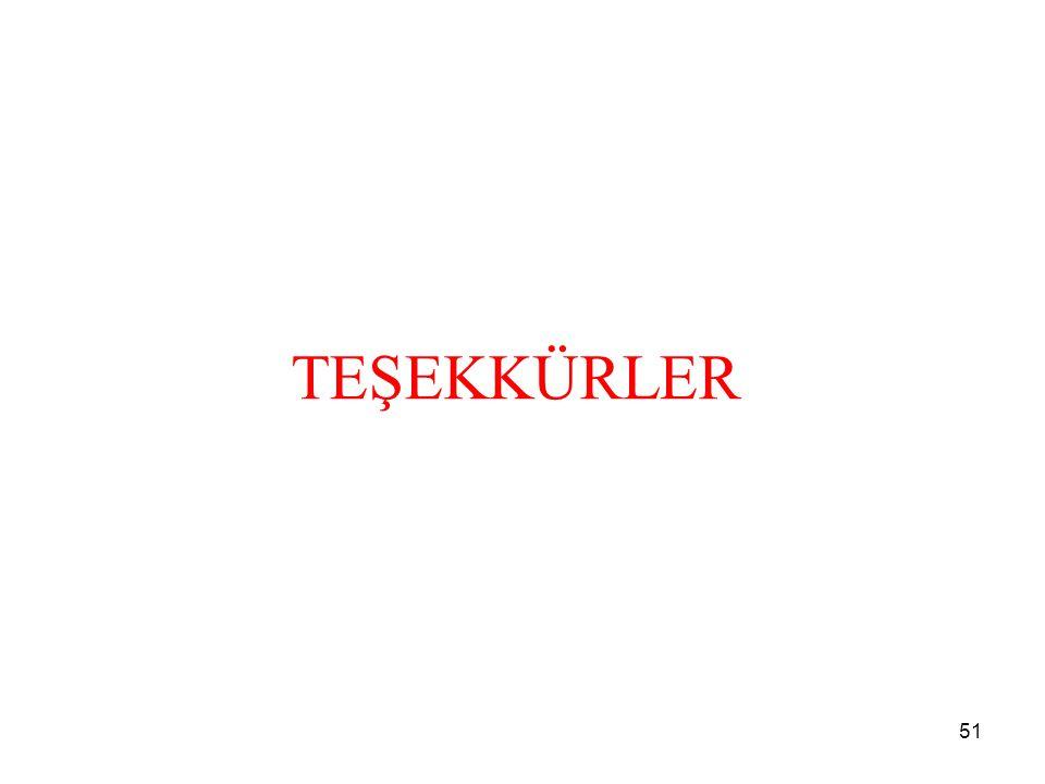 TEŞEKKÜRLER 51
