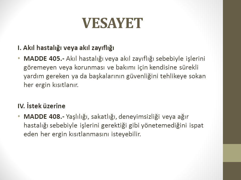 VESAYET I.