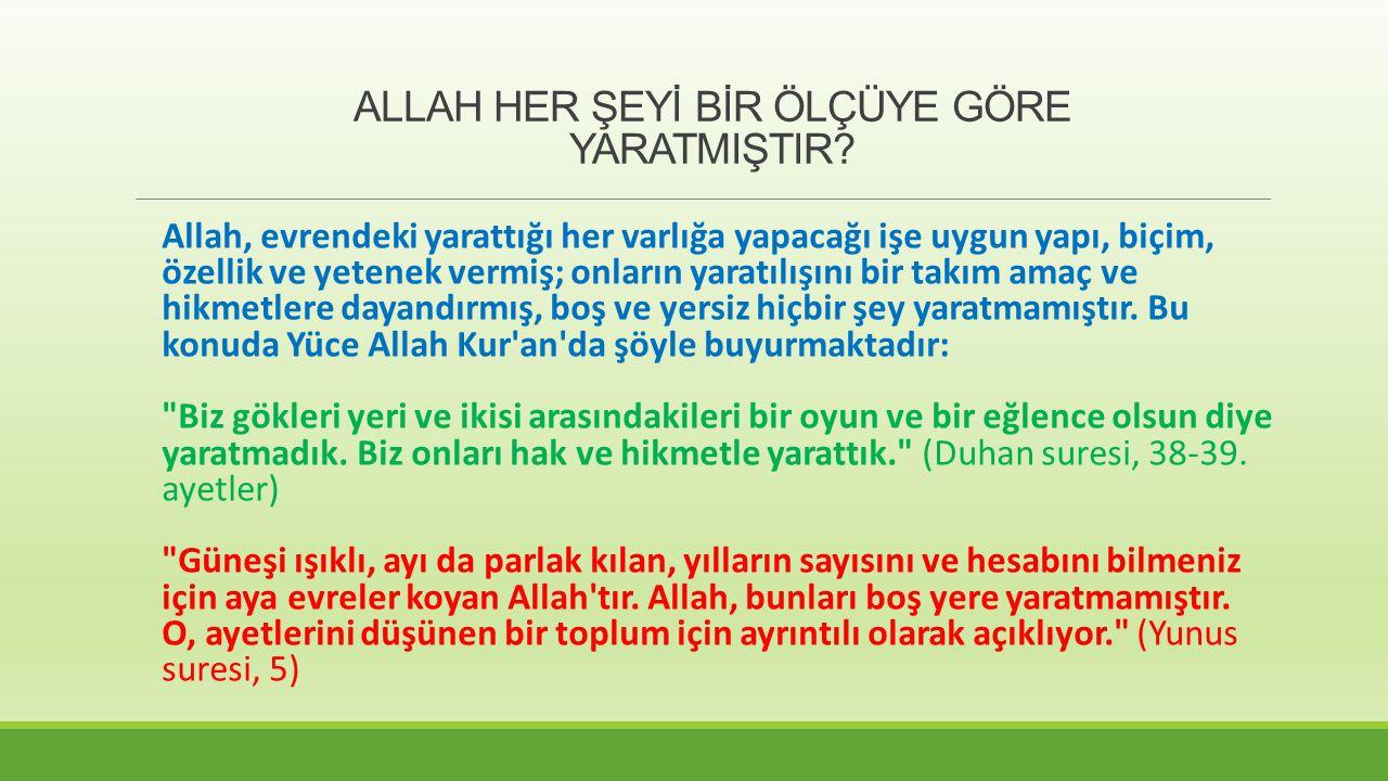ANLAMI Allah, O'ndan başka ilah yoktur.Diri (hayat sahibi) ve yaratıklarının üzerinde gözeticidir.