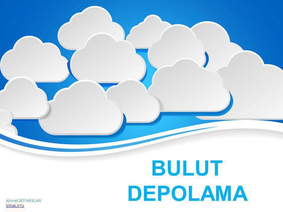 BULUT DEPOLAMA Ahmet SOYARSLAN biltek.info