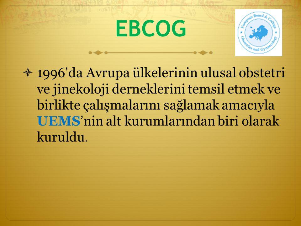 ENTOG aktiviteleri  Akreditasyon için başvuran hastanelere ENTOG yönetim kurulundan bir asistan da gider.