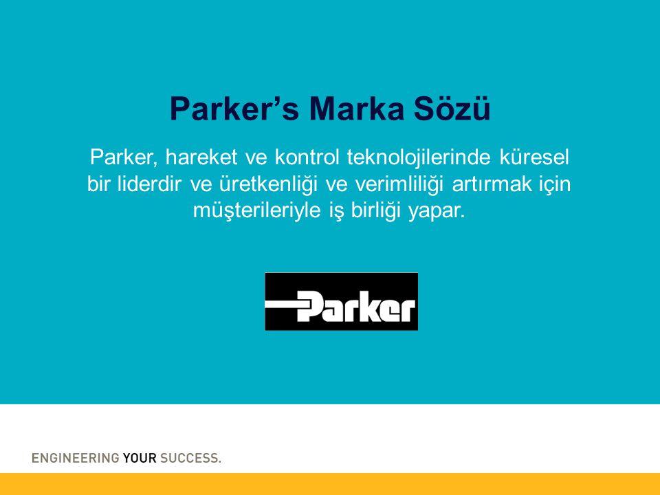 Parker, hareket ve kontrol teknolojilerinde küresel bir liderdir ve üretkenliği ve verimliliği artırmak için müşterileriyle iş birliği yapar.
