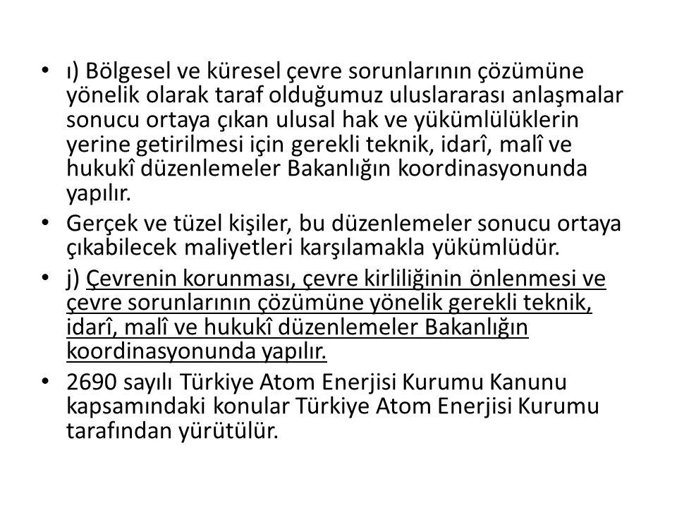 j) Kanunda ve yönetmelikte öngörülen yasaklara veya standartlara aykırı olarak veya önlemleri almadan atıkları toprağa verenlere 24.000 Türk Lirası idarî para cezası verilir.