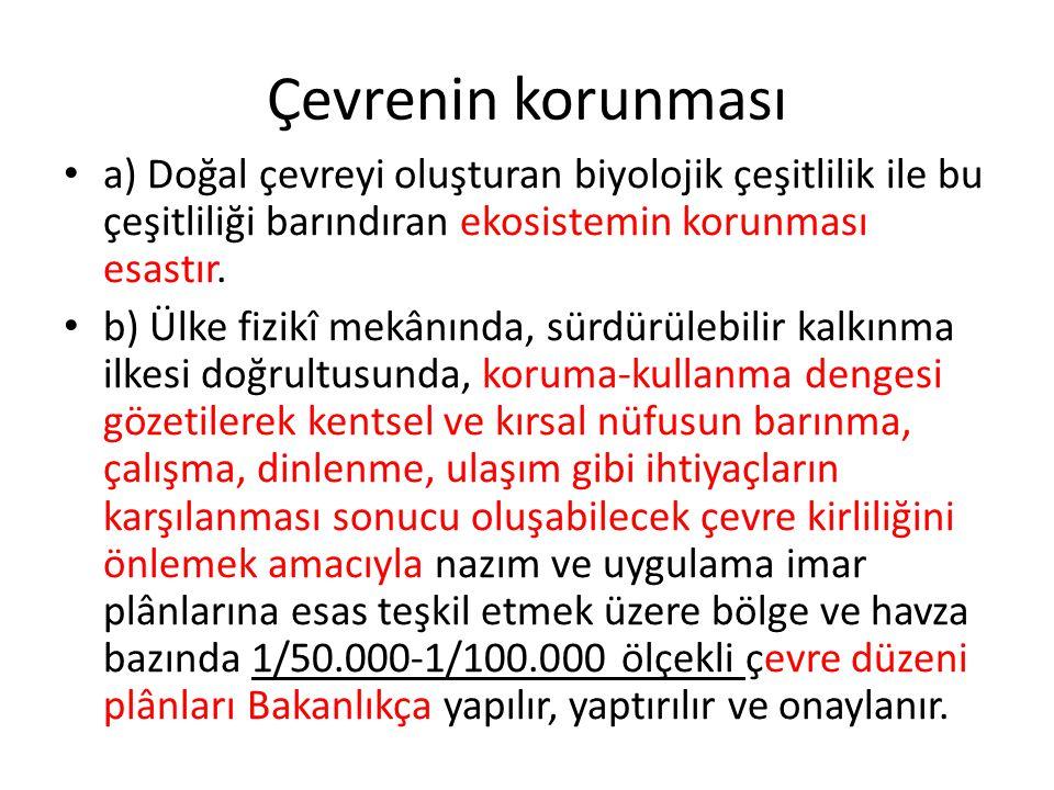 s) Umuma açık yerlerde her ne şekilde olursa olsun çevreyi kirletenlere 100 Türk Lirası idarî para cezası verilir.