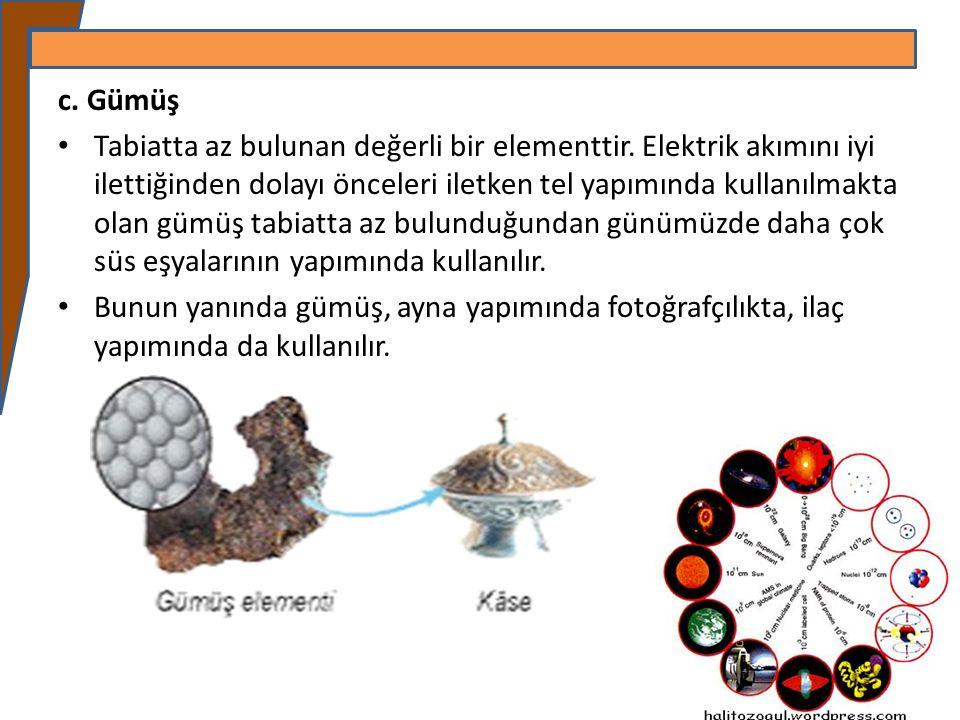 Element atomalrında çekirdekte bulunan proton sayıları, aynı zamanda katmanlarda bulunan elektron sayılarına eşit ise nötr atom özellik gösterir.