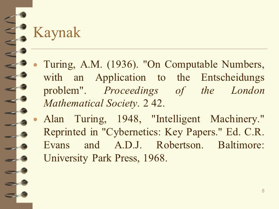 Kaynak  Turing, A.M. (1936).