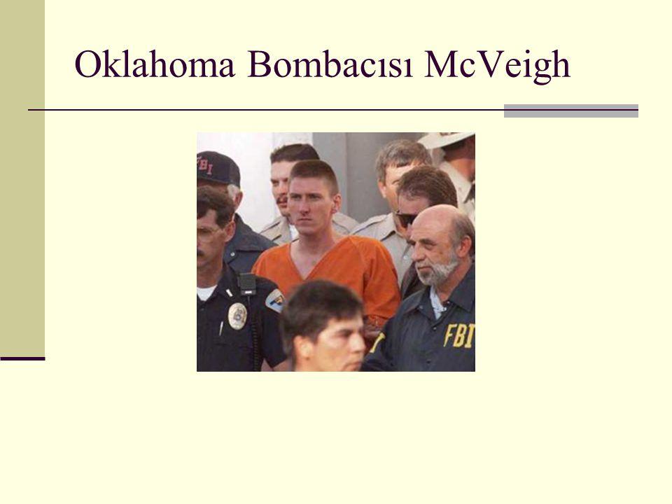 Oklahoma Bombacısı McVeigh