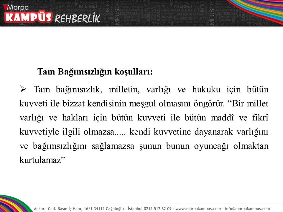 Atatürkçü eğitim sisteminde dikkate alınacak temel nitelik Atatürkçülüğü anlamak ve öğretmektir.