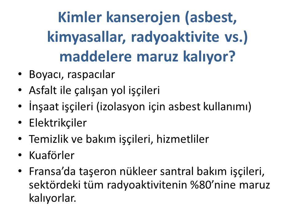 Türkiye'de Asbest Üretimi /Tüketimi: Bizi ne bekliyor.