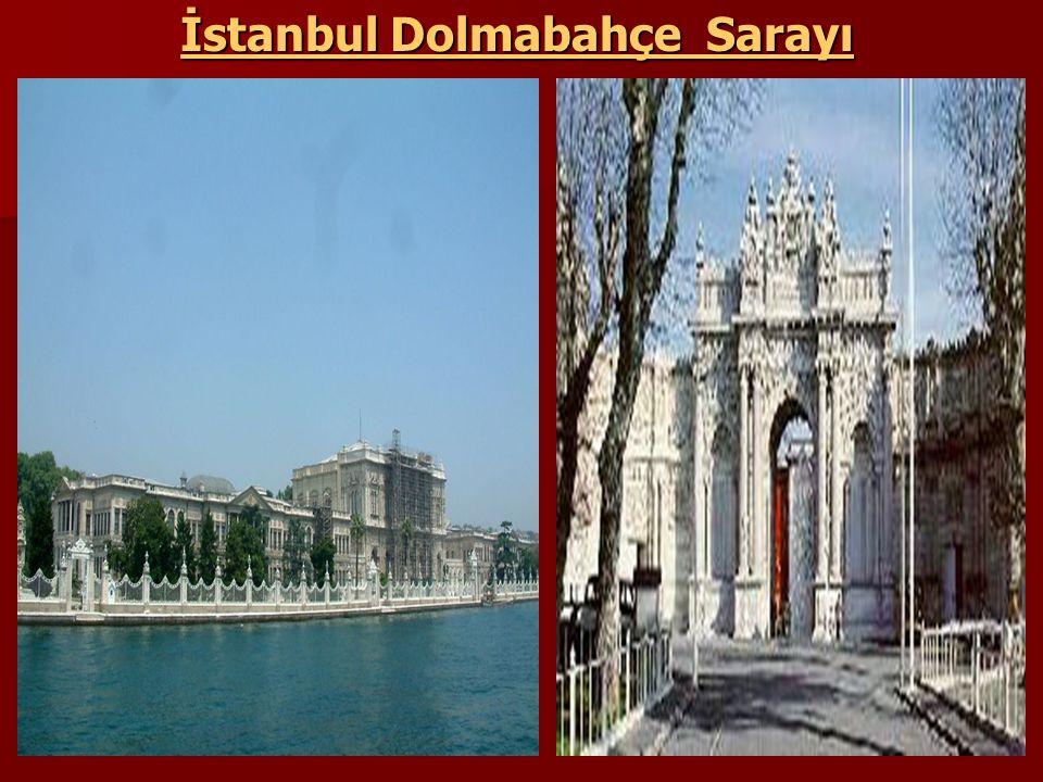 İstanbul Dolmabahçe Sarayı
