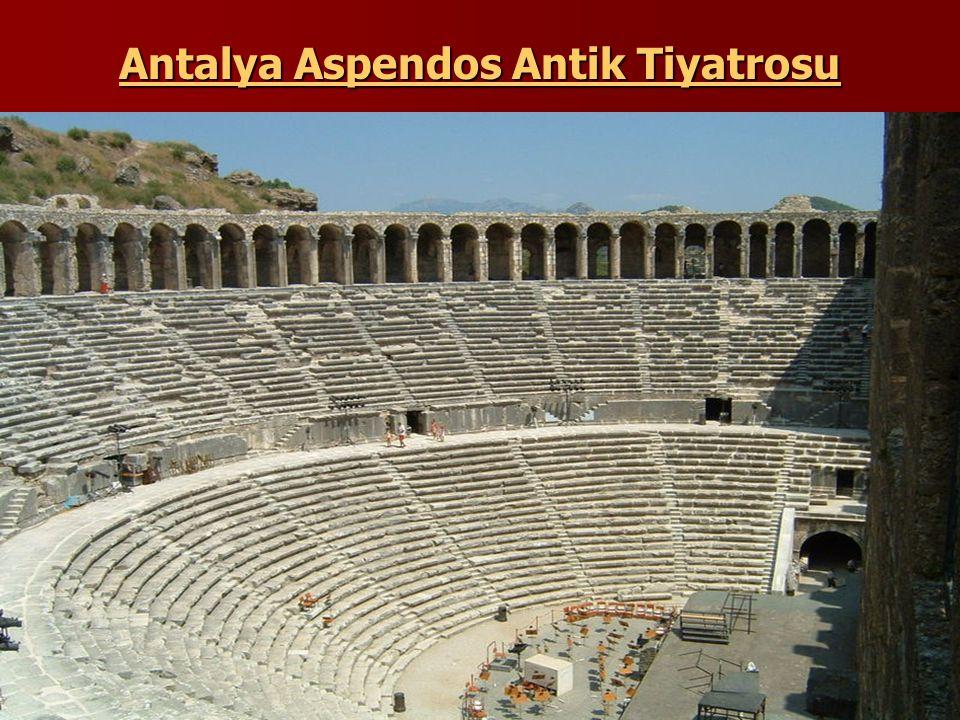 Antalya Aspendos Antik Tiyatrosu
