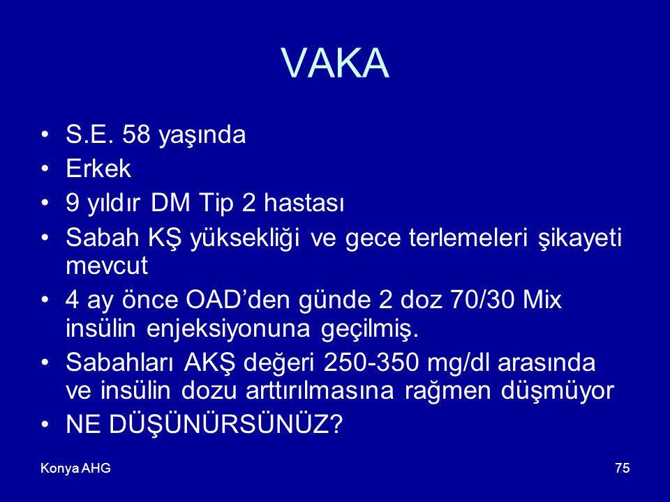 Konya AHG75 VAKA S.E.