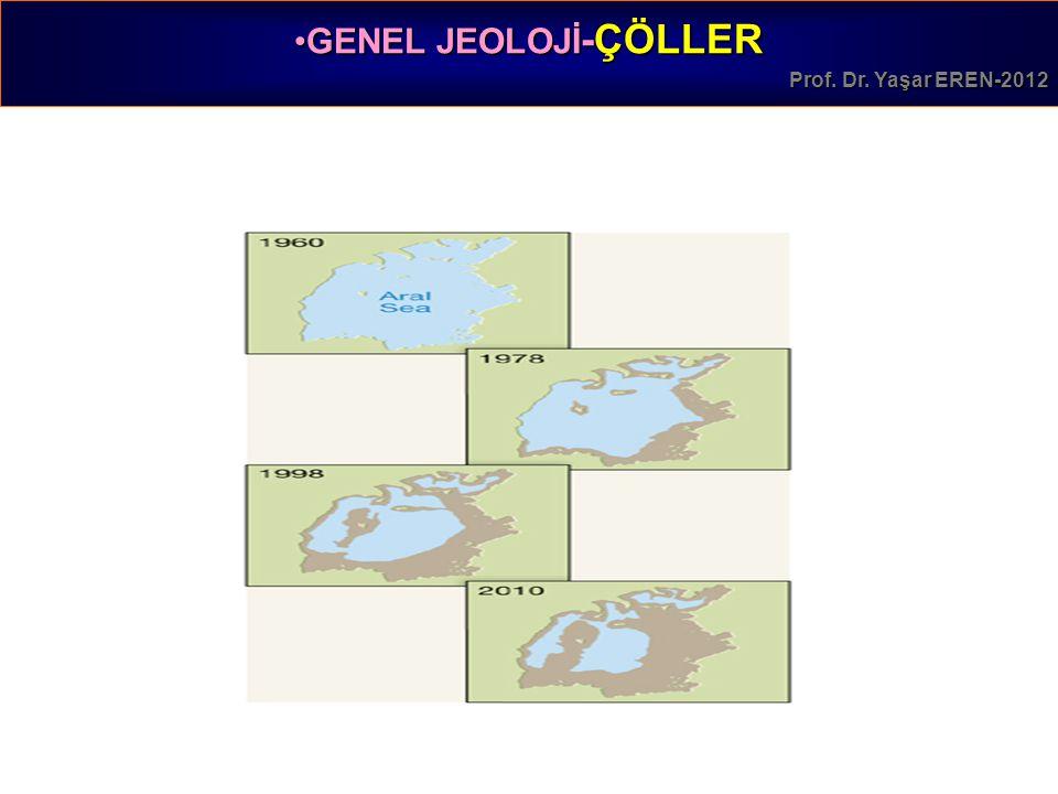 GENEL JEOLOJİ -ÇÖLLERGENEL JEOLOJİ -ÇÖLLER Prof. Dr. Yaşar EREN-2012