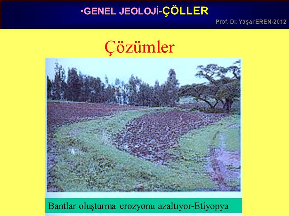 GENEL JEOLOJİ -ÇÖLLERGENEL JEOLOJİ -ÇÖLLER Prof.Dr.