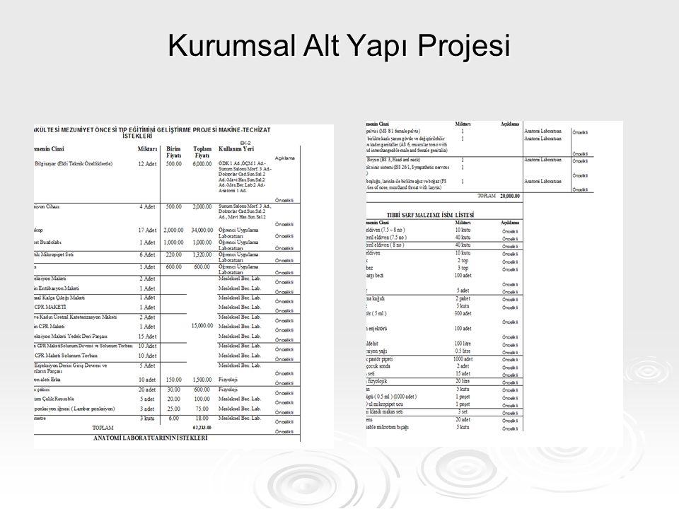 Kurumsal Alt Yapı Projesi