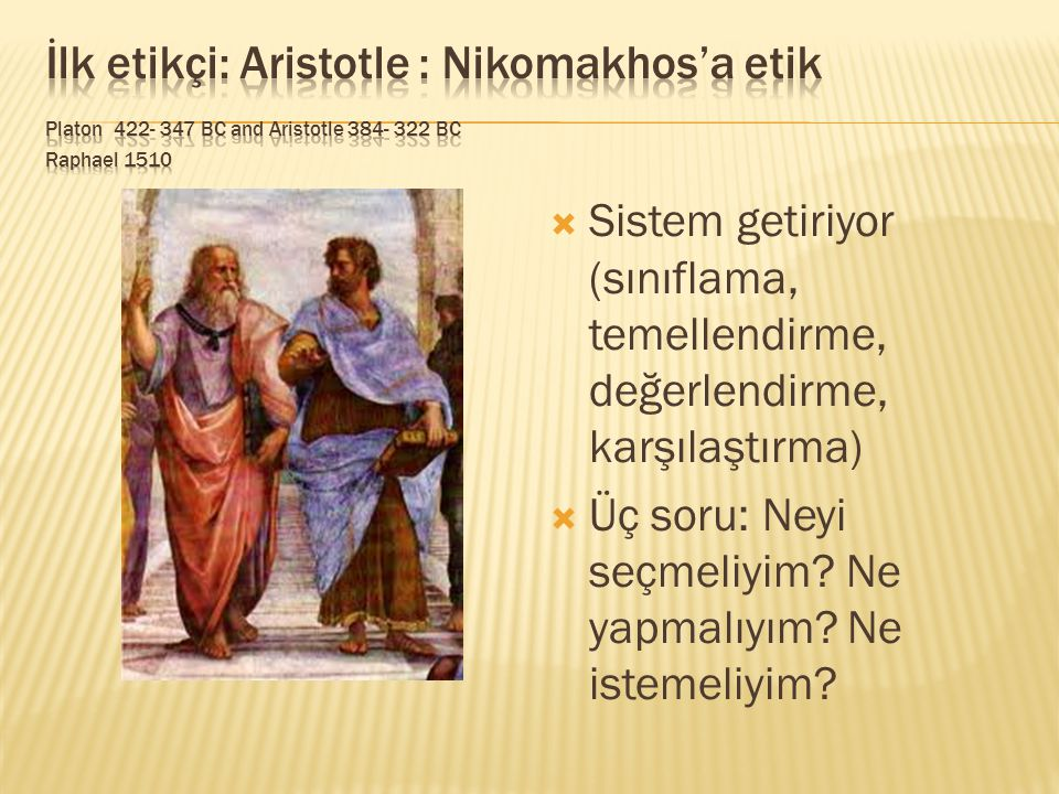 Friedrich Nietzsche 1844- 1900 Orhan Taylan (1941-) God is dead  God is dead  Overman/ spontaneous man  Body versus rationality  They open the gate of the irrational part, the psyche  I –God is a possible connection for all of us since we all had an omnipotent mother in us