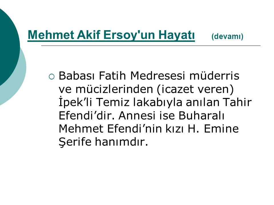  Babası Fatih Medresesi müderris ve mücizlerinden (icazet veren) İpek'li Temiz lakabıyla anılan Tahir Efendi'dir. Annesi ise Buharalı Mehmet Efendi'n