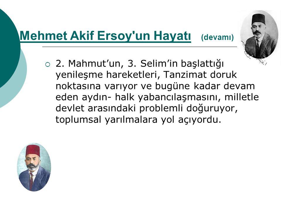  2.Mahmut'un, 3.