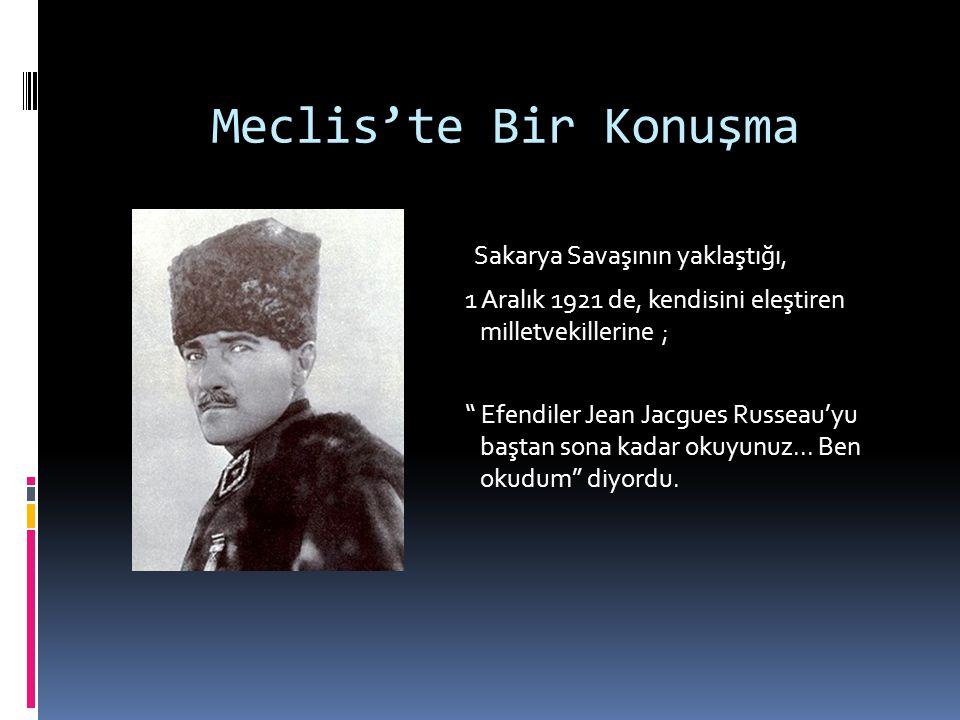 Mustafa Kemal Ankara'da  O yıllarda (1920) İslam tarihi ile ilgili eserler okur,  Öğrenciler ve Öğretmenler Askere alınmaz, Gazeteciler ise tecil edilir.