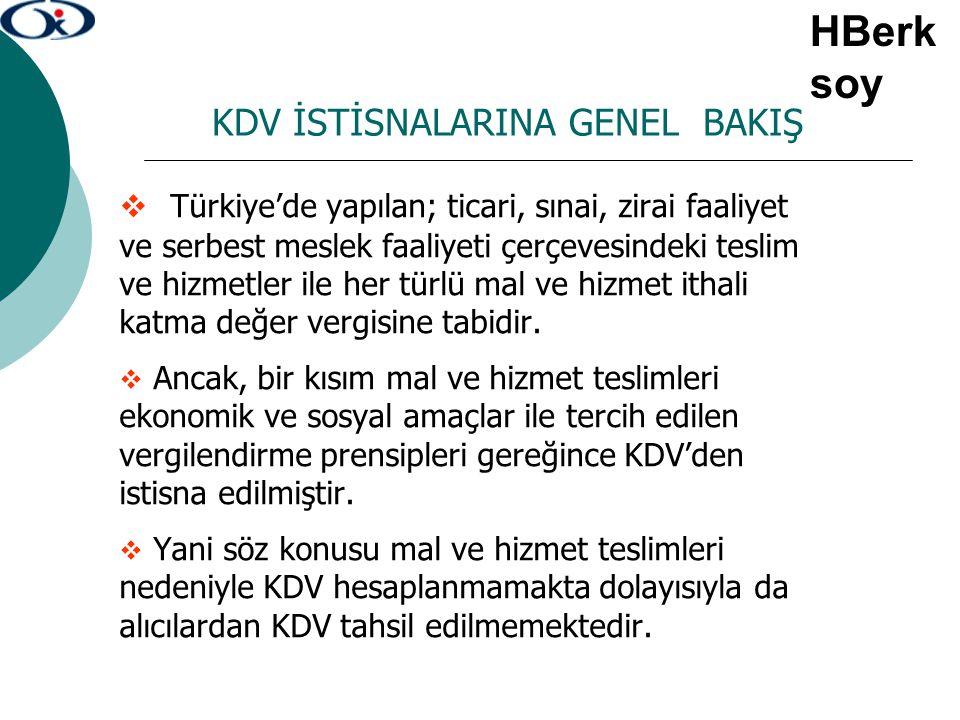 TECİL-TERKİN İŞLEMLERİNDE ÖZELLİKLİ DURUMLAR 2.