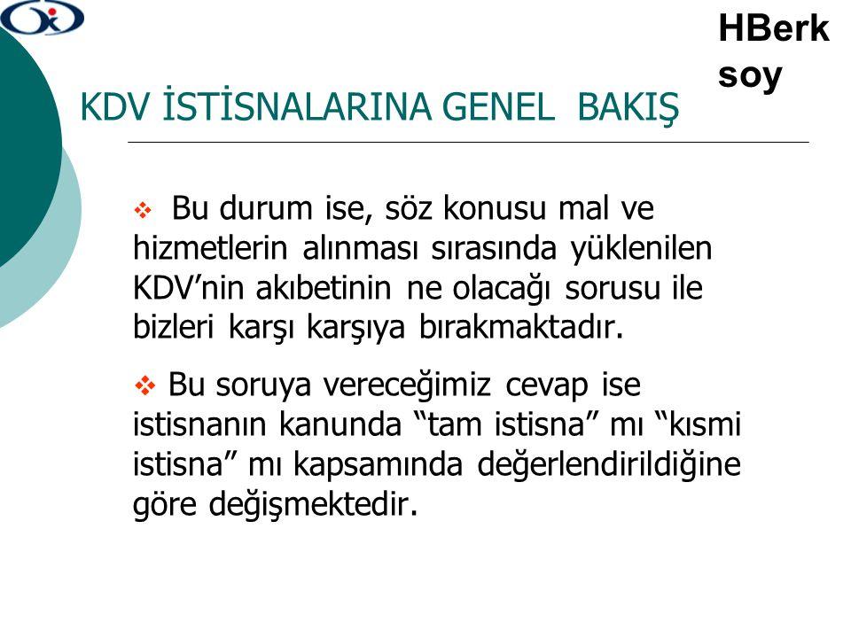 TECİL-TERKİN İŞLEMLERİNDE ÖZELLİKLİ DURUMLAR 3.