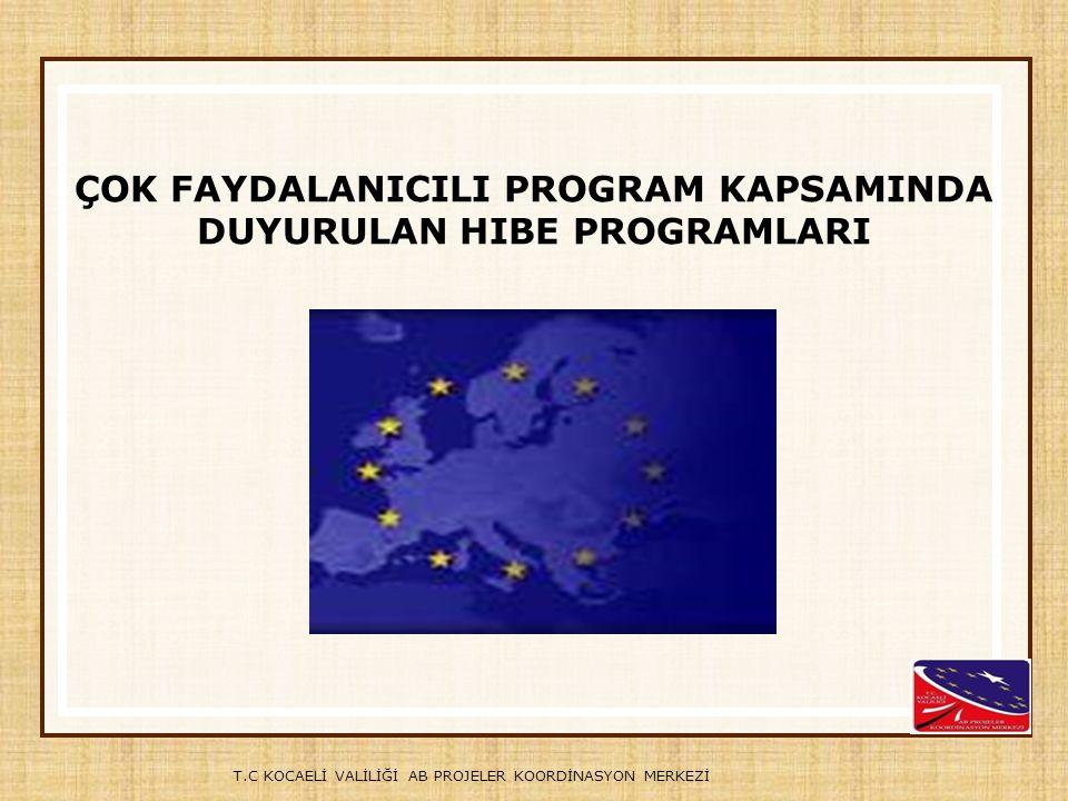 Çok Faydalanıcılı Program, Avrupa Birliği tarafından sağlanan Katılım Öncesi Mali Yardım Aracı (Instrument for Pre- Accession-IPA) kapsamında aday ve potansiyel aday ülkelerin üyelik sürecini desteklemek amacıyla Avrupa Komisyonu tarafından geliştirilmiştir.