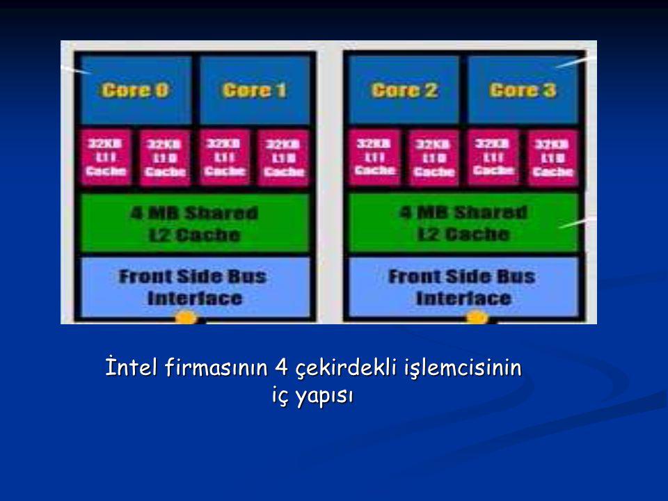 Çok çekirdekli işlemcilerde ki avantajı kullanabilecek bir işletim sistemi ve uygun kodlarla her bir çekirdek ayrı bir işlemci gibi kullanılabilir ve paralel hesaplama yapılabilir.