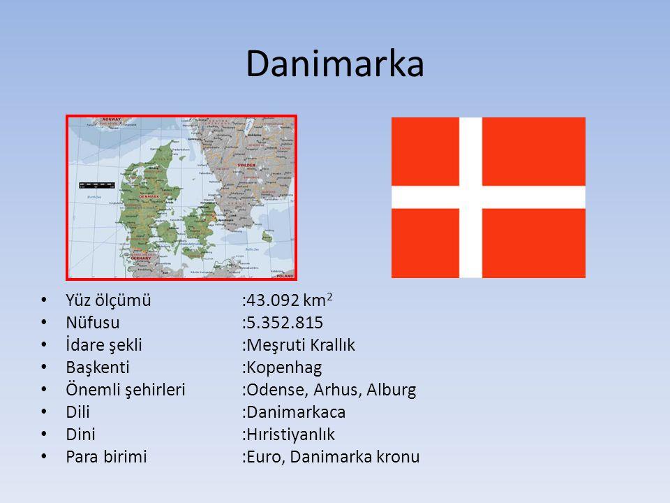 Danimarka'nın Tarihçesi 1849 a kadar krallıkla yönetilmiş; sonra meşrutî krallığa geçilmiştir.