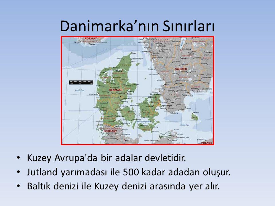 Maden ve Enerji Danimarka da yer altı kaynakları çok sınırlıdır.