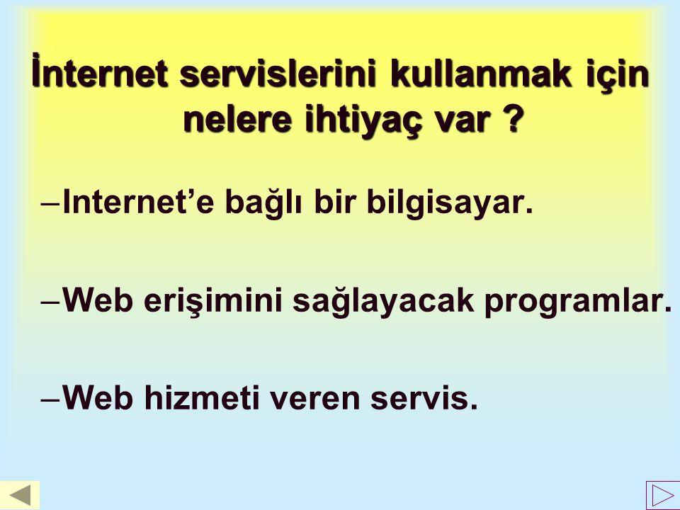 Internet Ne Sunar? Web SINIFLANMASIWeb bilgisayar ortamındaki çok çeşitli ve fazla miktardaki bilginin SINIFLANMASI ve kolayca bulunabilmesi ihtiyacın