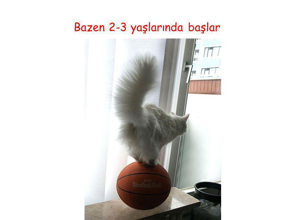 Prof.Dr.Ayşe Avcı Gaziantep 21.03.2008 Bazen 2-3 yaşlarında başlar