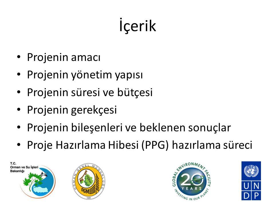 Projenin Amacı Türkiye'de bütünleşik (entegre) orman yönetimi yaklaşımının, yüksek koruma değerine sahip Akdeniz orman bölgesinde çok yönlü çevresel fayda sağlayan uygulamalar yaparak teşvik edilmesi.