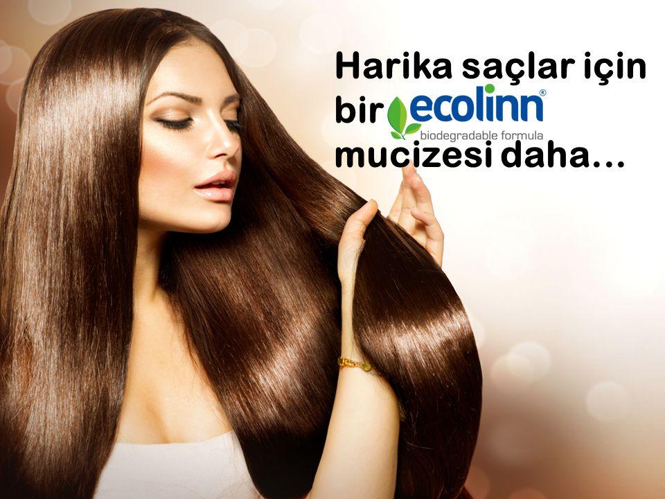 Harika saçlar için bir mucizesi daha...