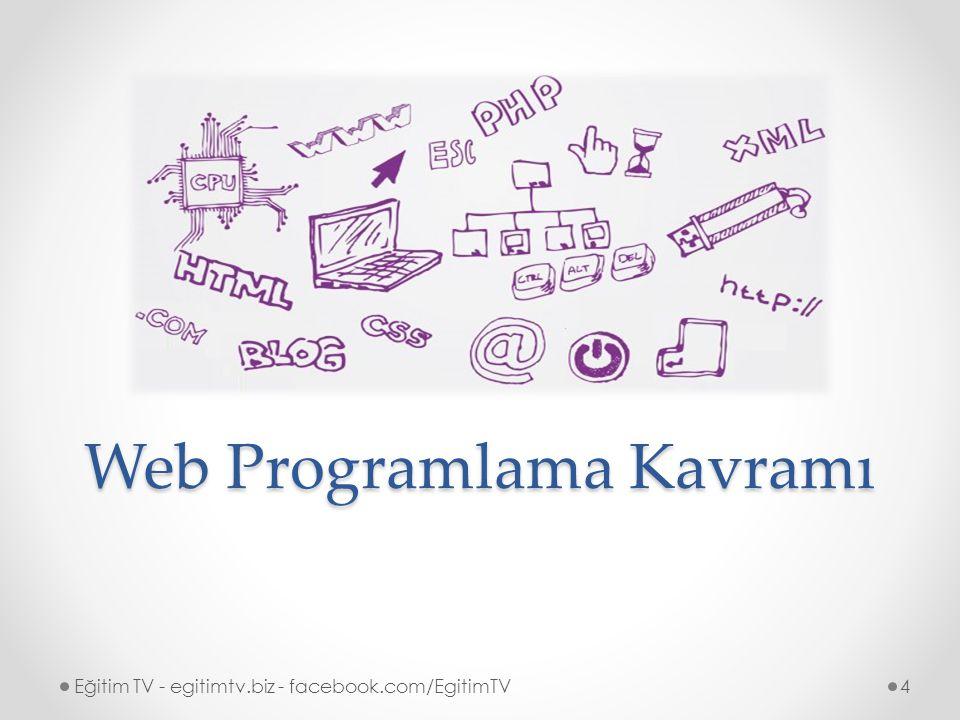 4 Web Programlama Kavramı