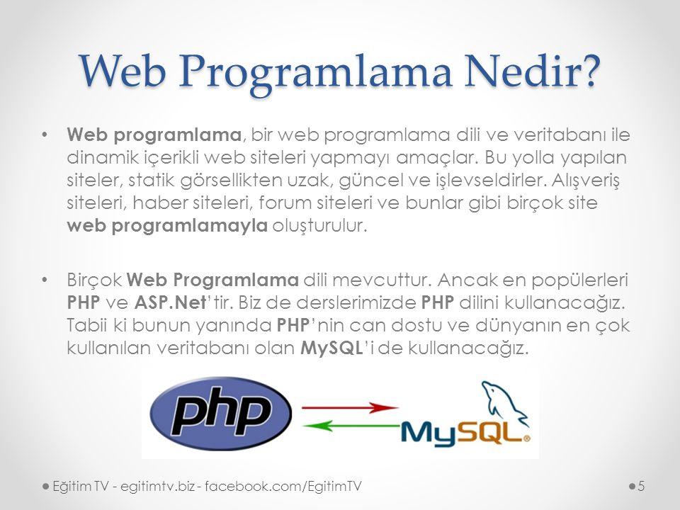 PhpMyAdmin PhpMyAdmin, PHP ile MySQL yönetimini bir arayüz ile sağlayan ücretsiz bir yazılım aracıdır.