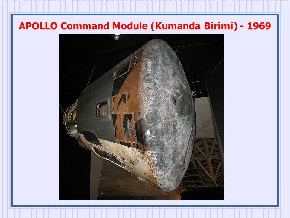 APOLLO Command Module (Kumanda Birimi) - 1969