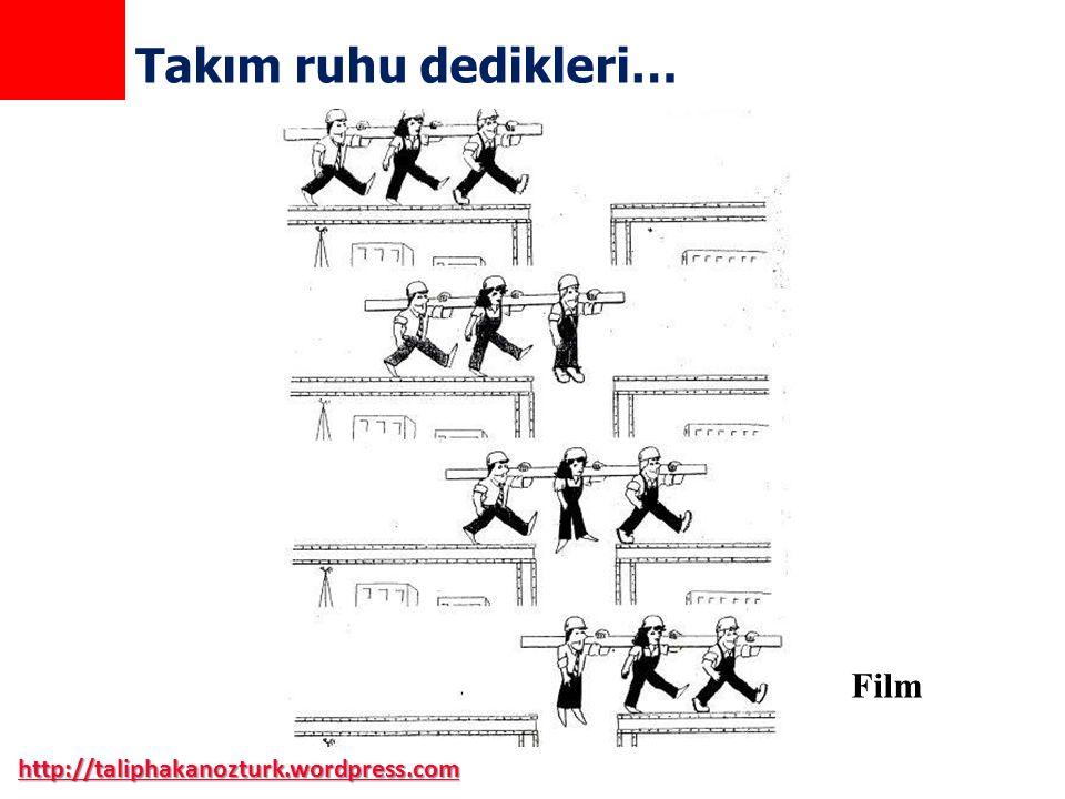 http://taliphakanozturk.wordpress.com Takım ruhu dedikleri… Film
