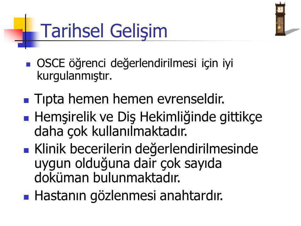 OSCE öğrenci değerlendirilmesi için iyi kurgulanmıştır.