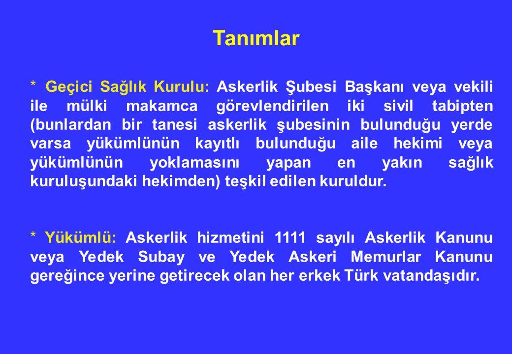Bu yükümlülerin yoklama belgesine el yazısı ile Diyarbakkır Asker Hastanesi.........